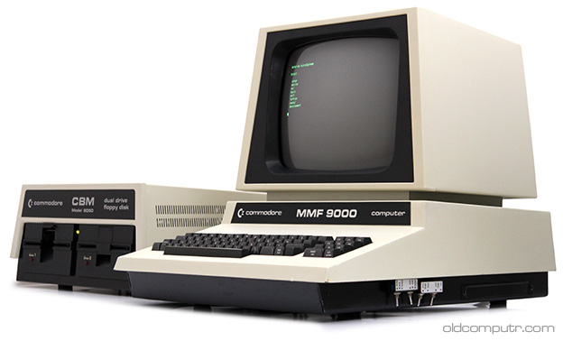 Commodore MMF9000 and 8050