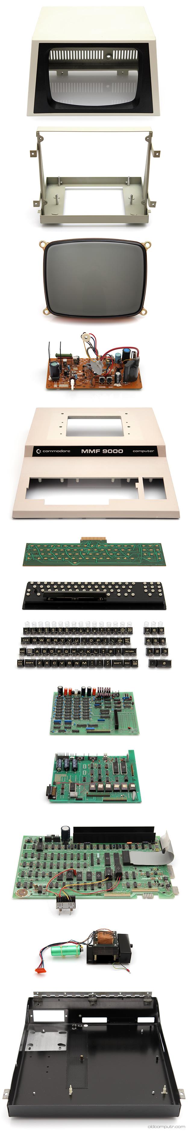 Commodore MMF9000 - parts