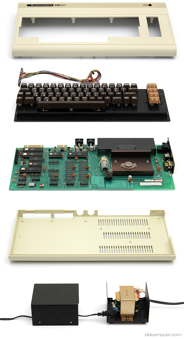 Commodore VIC 20 - pieces