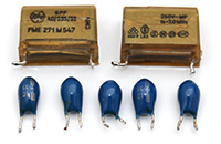 Sharp MZ-80FD - capacitors