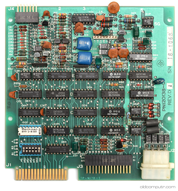 Sharp MZ-80FD - drive pcb