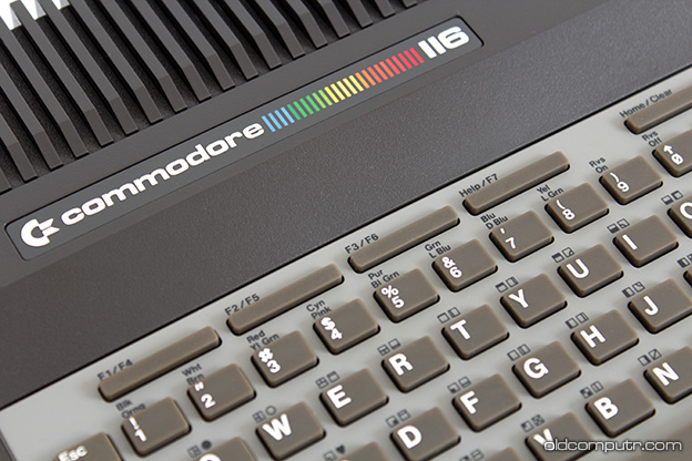 Commodore 116 - Detail