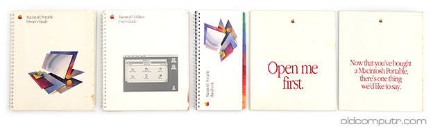Apple Macintosh Portable - Manuals