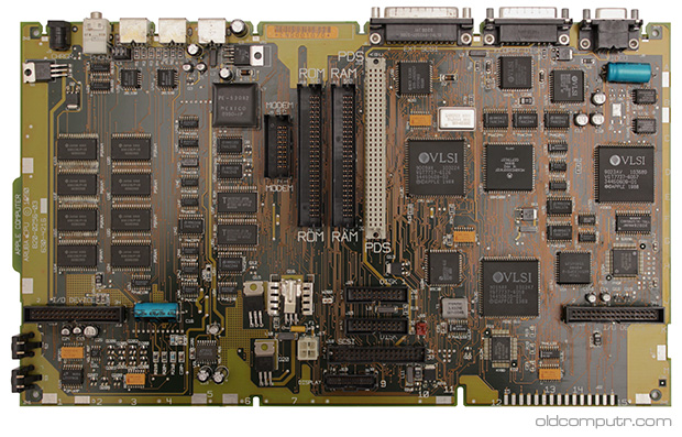 Apple Macintosh Portable - Motherboard