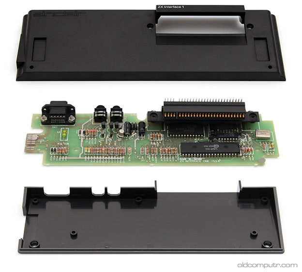 Sinclair ZX Interface 1 - Exploded view