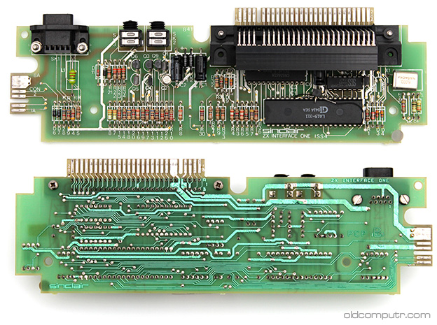 Sinclair ZX Interface 1 - Board