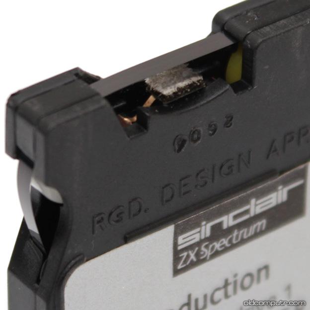 Sinclair ZX Microdrive - Cartridge detail