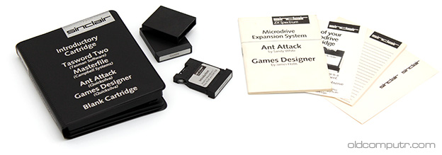 Sinclair ZX Microdrive - Cartridges pack