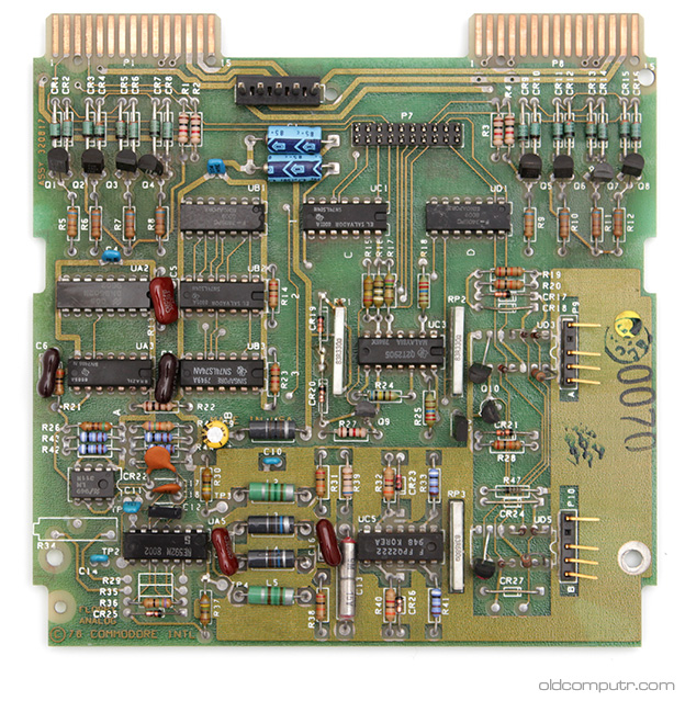Commodore 4040 - Drive board