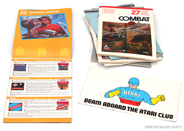 Atari 2600 - Manuals and leaflets