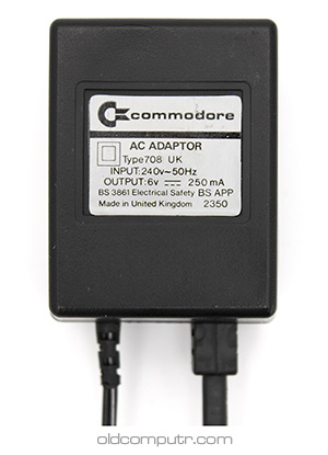 Commodore TV Game 3000H - AC adaptor