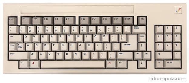 Commodore Amiga 1000 - Keyboard