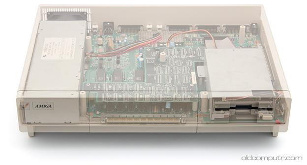 Commodore Amiga 1000 - Transparent