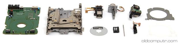Floppy drive - Clean
