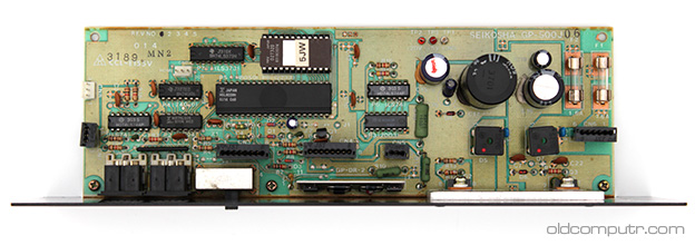 Commodore MPS 801 - motherboard