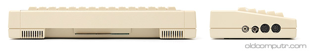 Acorn Electron - back and side