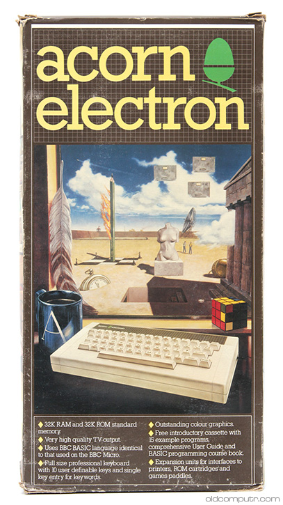 Acorn Electron - box