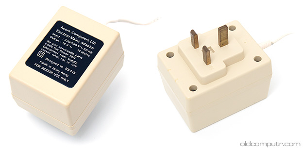Acorn Electron - mains adaptor