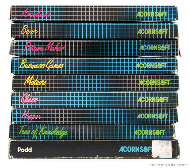Acorn Electron - tapes
