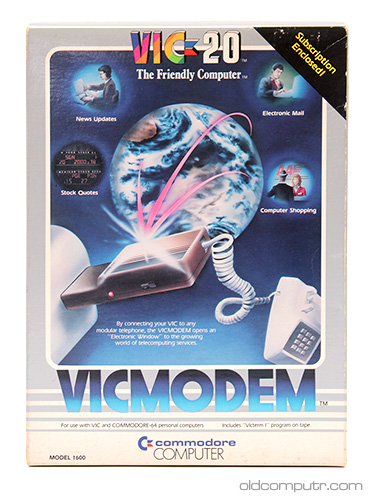 Commodore VICMODEM - box
