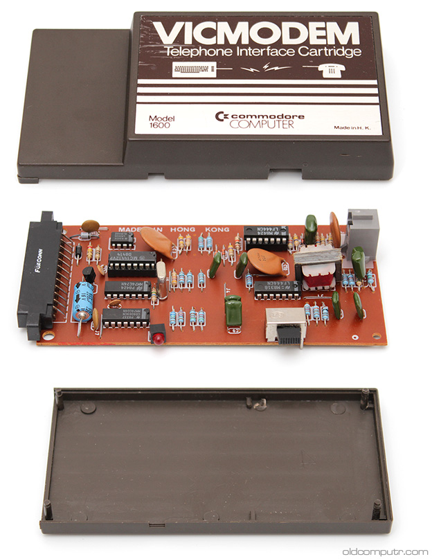 Commodore VICMODEM - exploded view