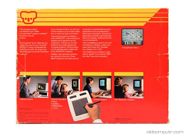 KoalaPad TouchTablet - box (back)