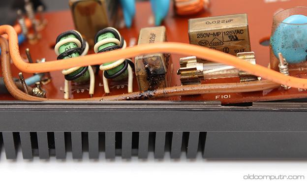 Sony Hit Bit HB-75P - RIFA filters