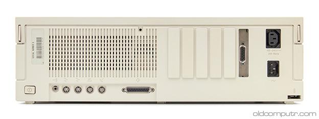 Apple Macintosh IIfx - back