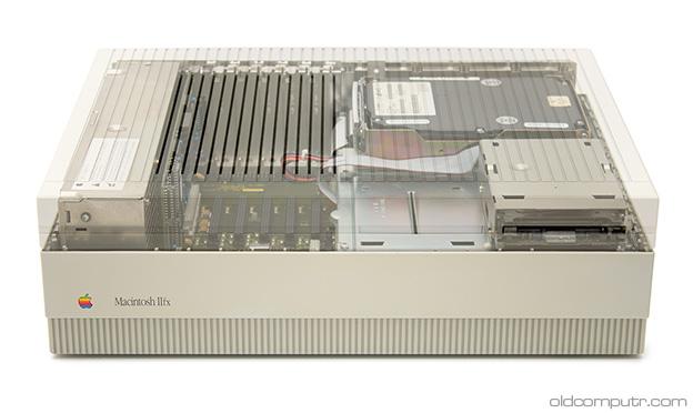 Apple Macintosh IIfx - transparent