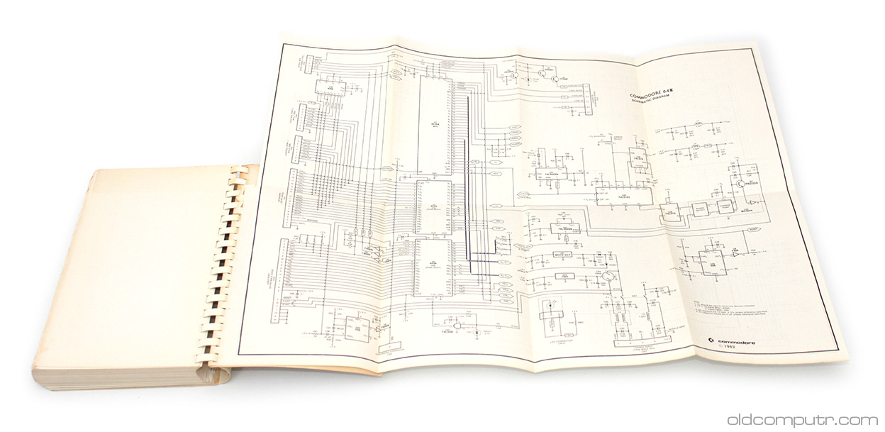 Commodore 64 - schematics