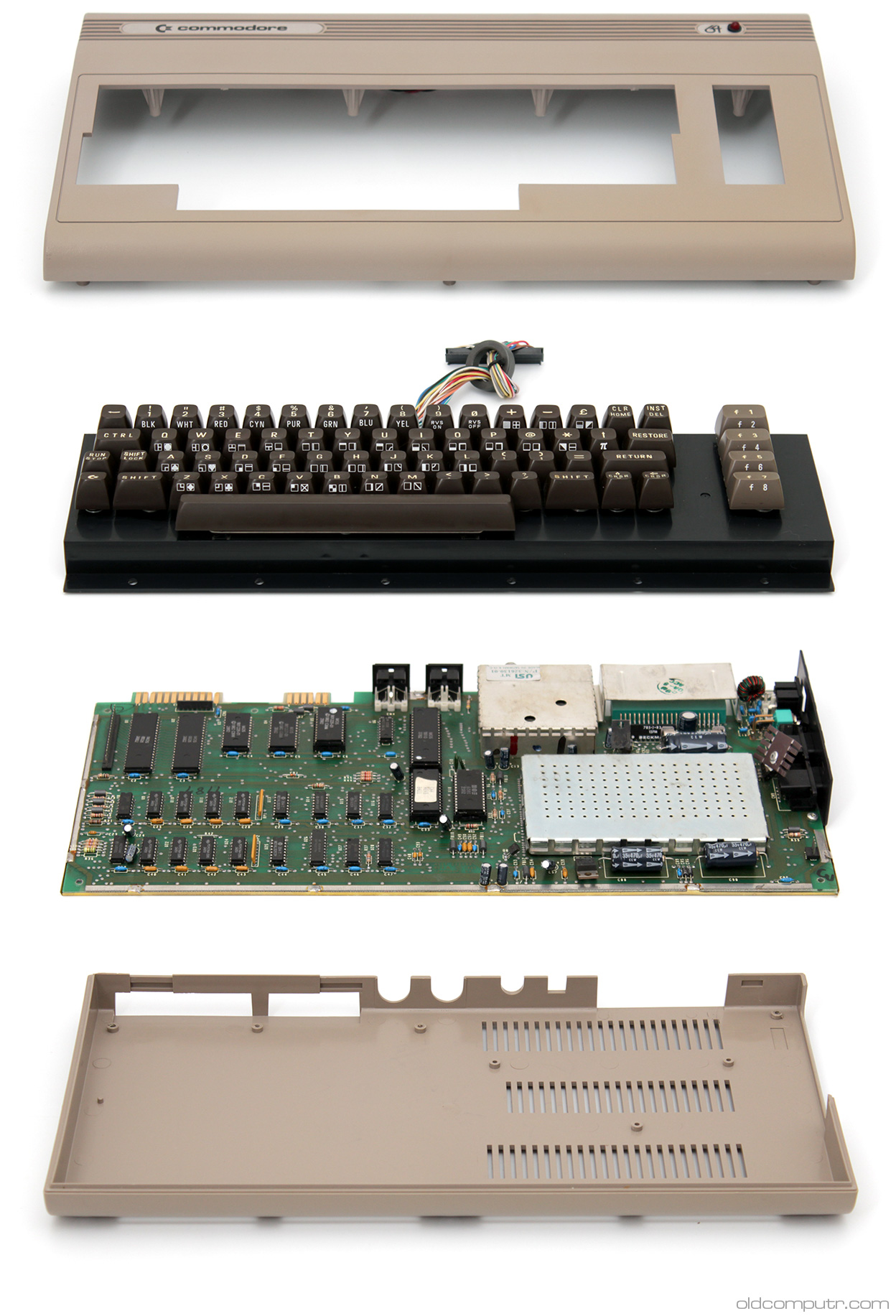 Commodore 64 - teardown
