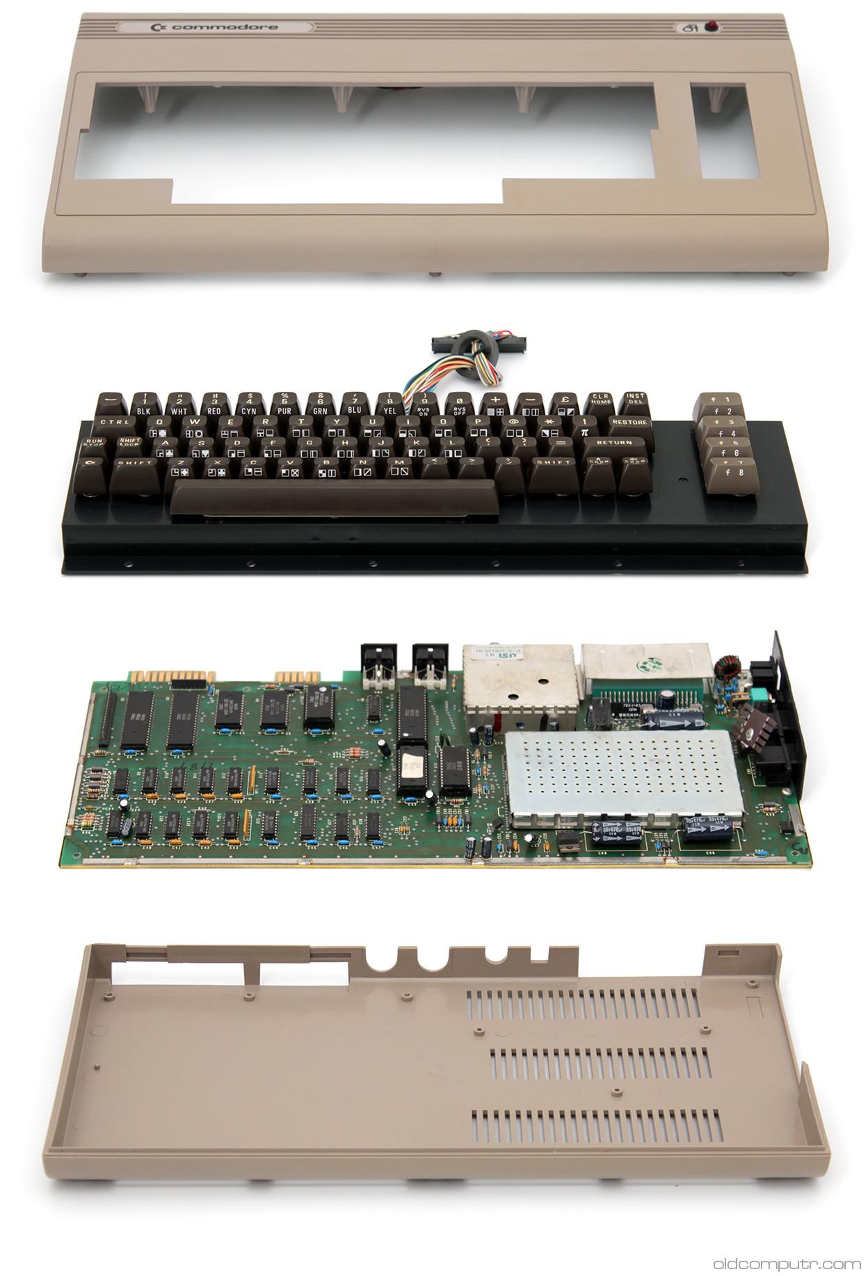 Commodore 64 - teardown