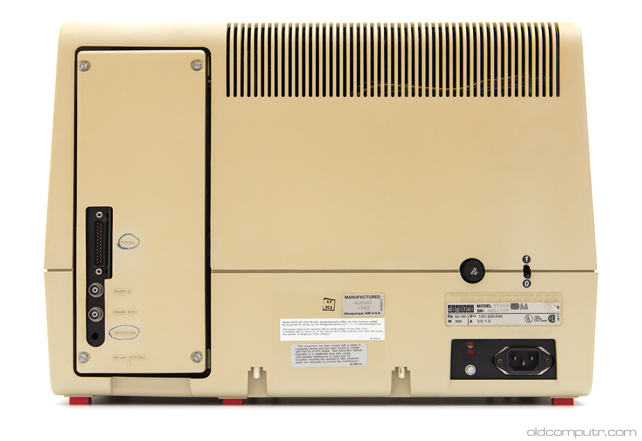 Digital VT100 - back