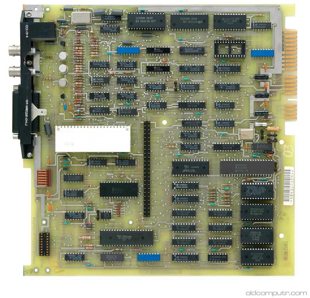 Digital VT100 - motherboard
