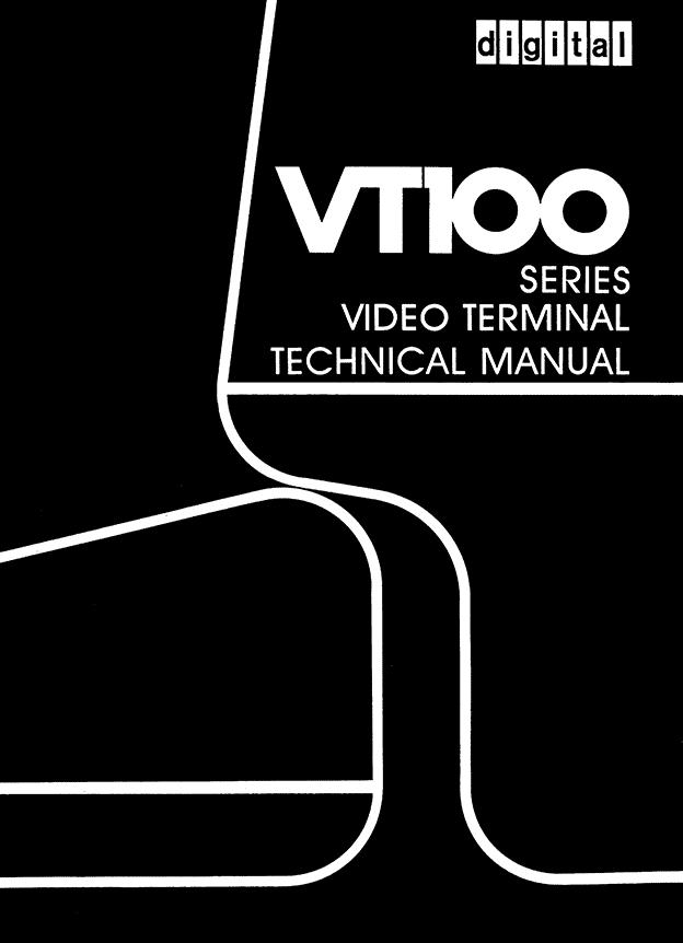 Digital VT100 - technical manual