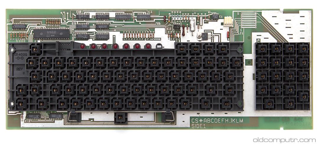 Digital VT100 - keyboard pcb