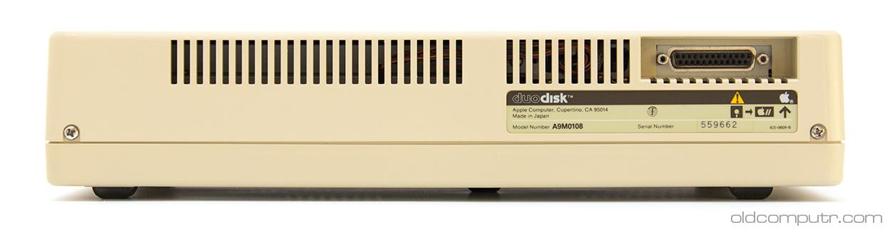 Apple DuoDisk - back