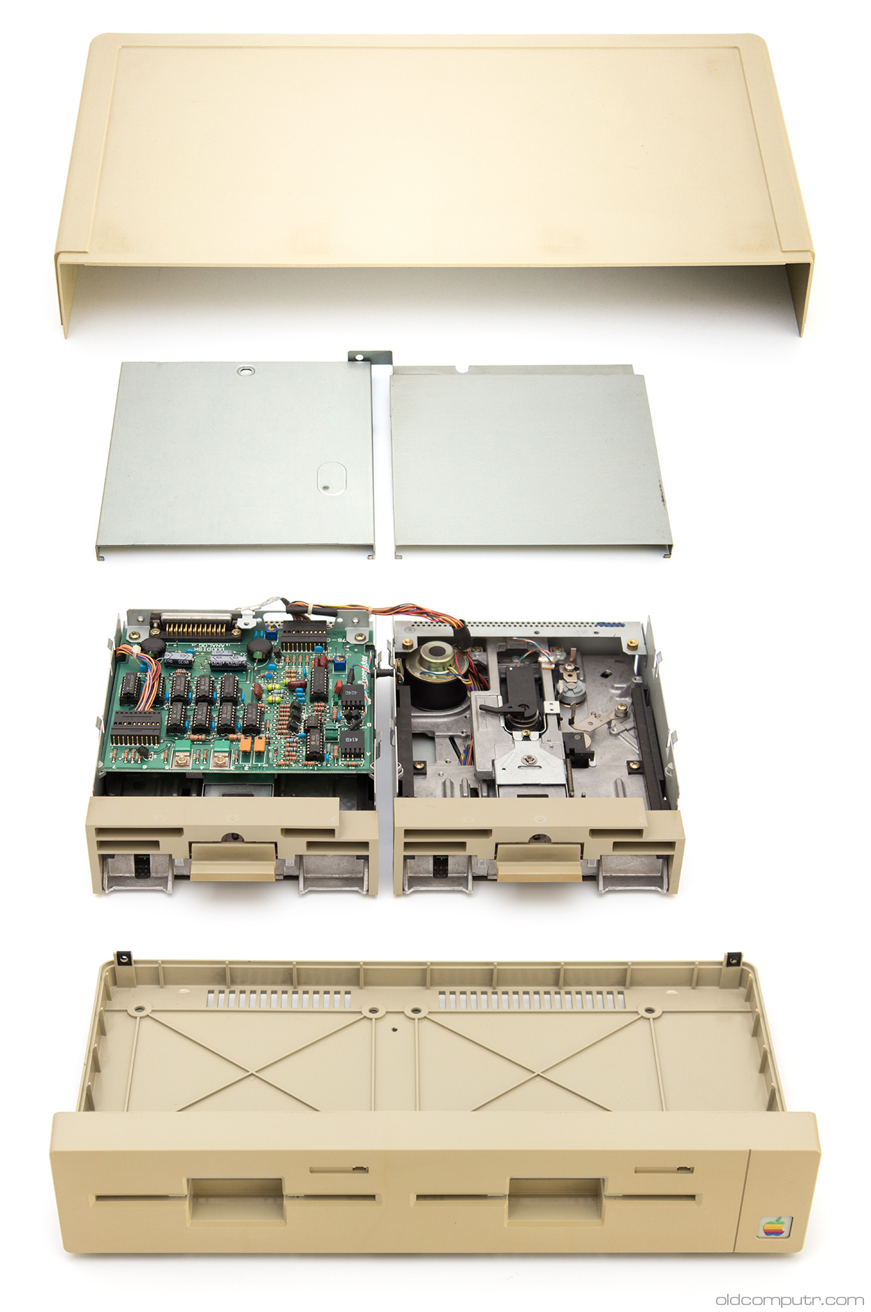 Apple DuoDisk - teardown