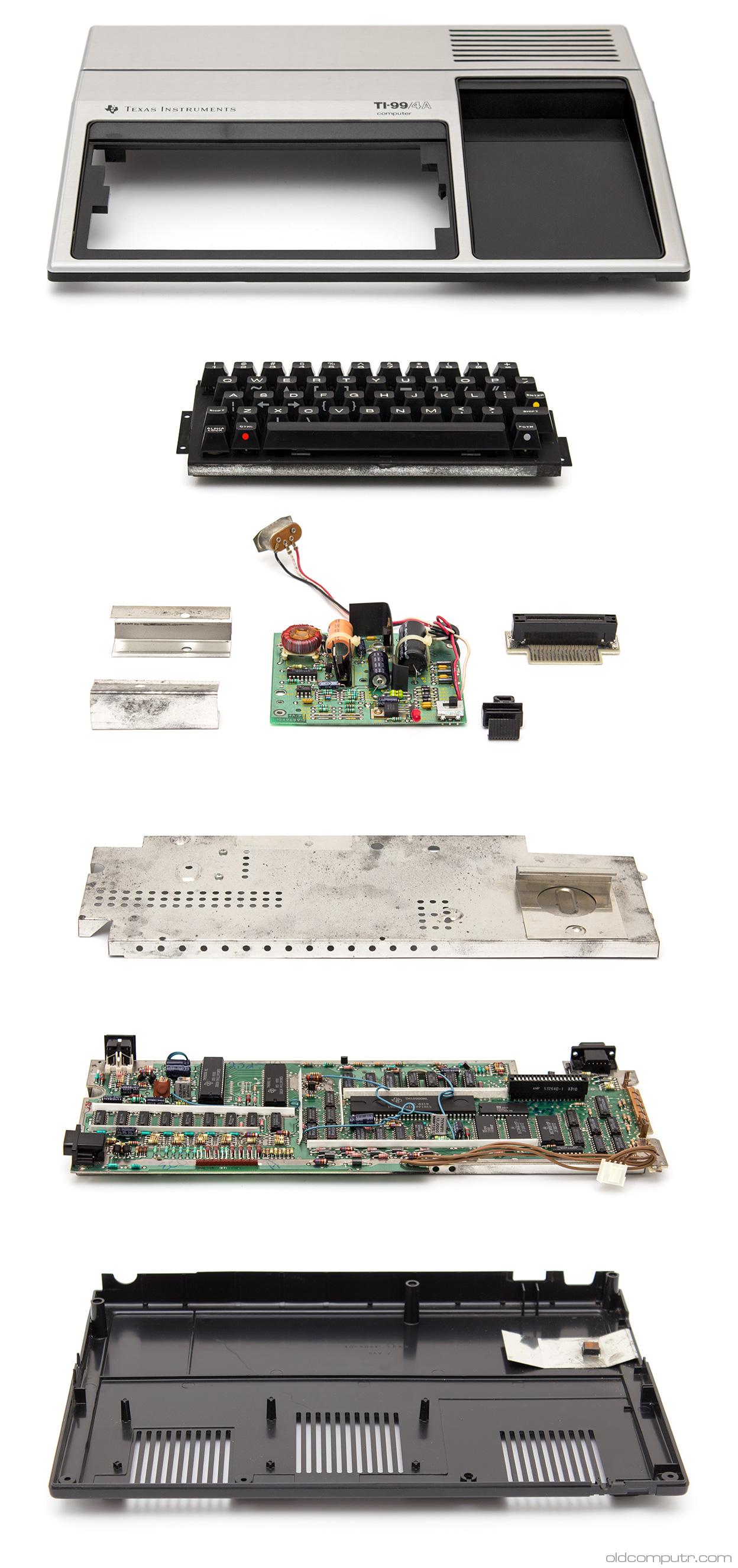 Texas Instruments TI99/4A - teardown