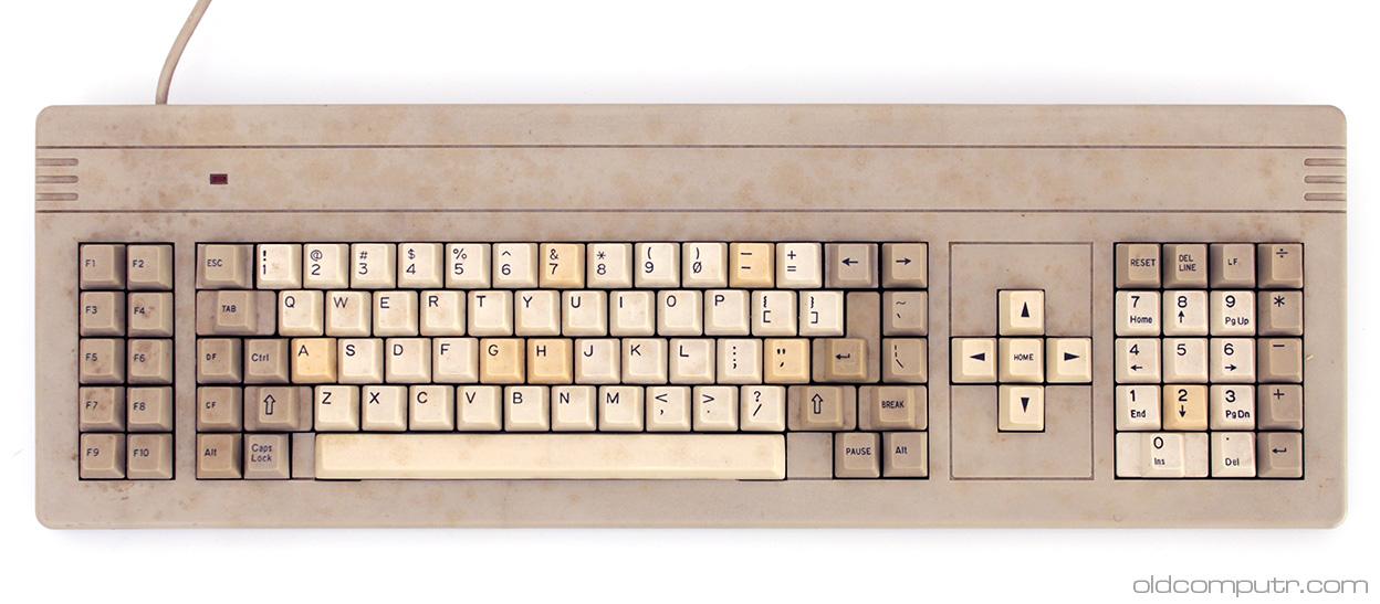 Staff C1 - dirty keyboard