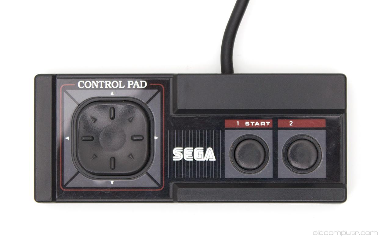 sega master system control pad 9406 sega master system (1986) oldcomputr com  at soozxer.org