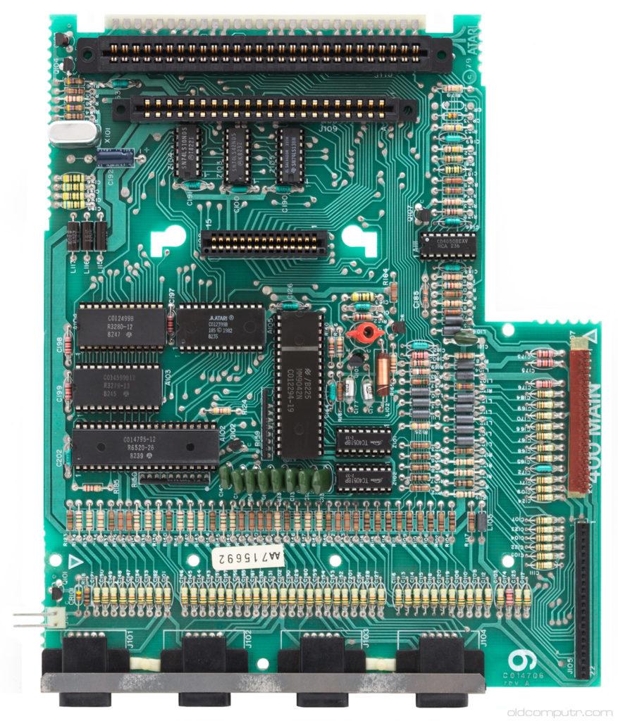 Atari 400 motherboard