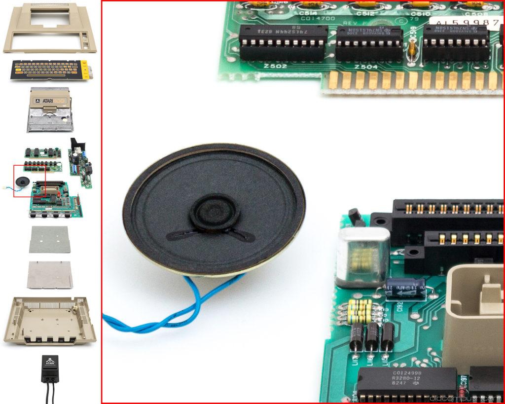 Atari 400 Teardown detail