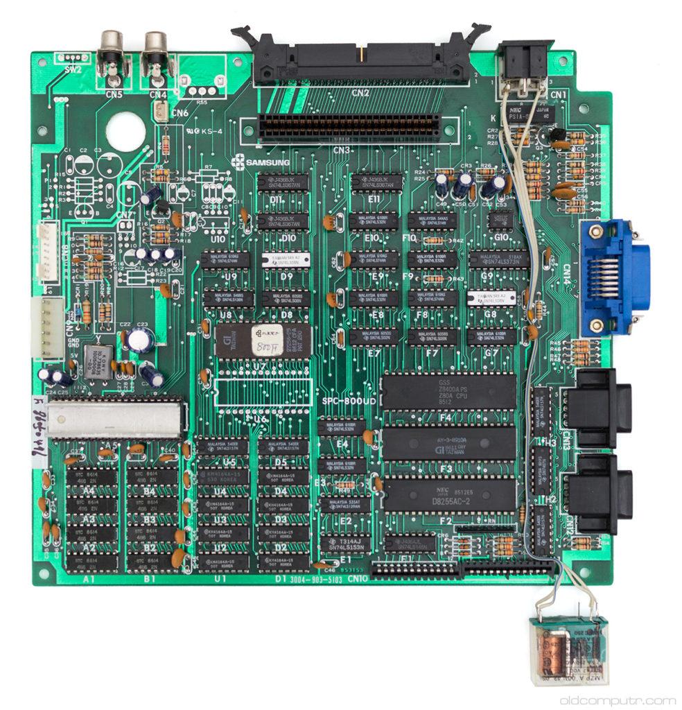 Fenner SPC-800 - motherboard