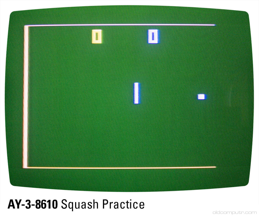Sportron - AY-3-8610 squash practice (A5)