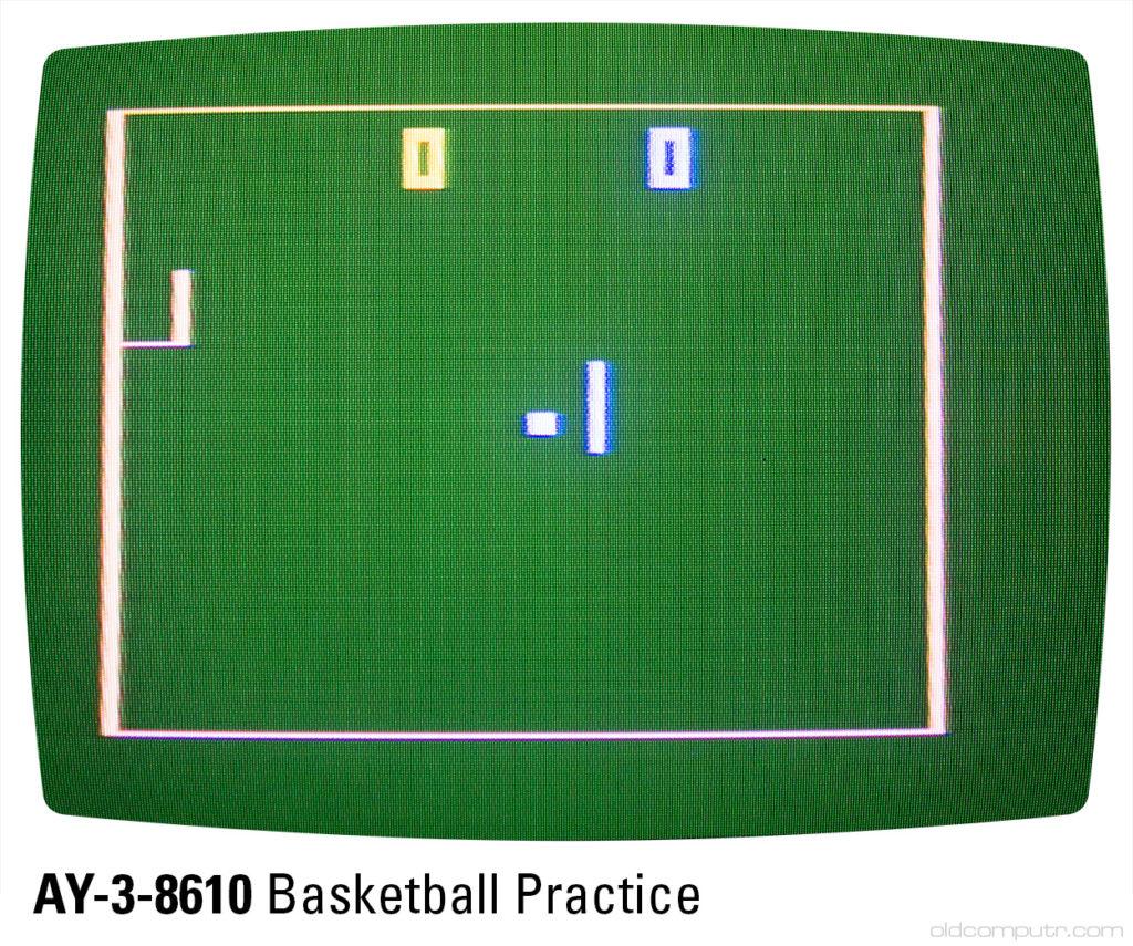 Sportron - AY-3-8610 basketball practice (B1)