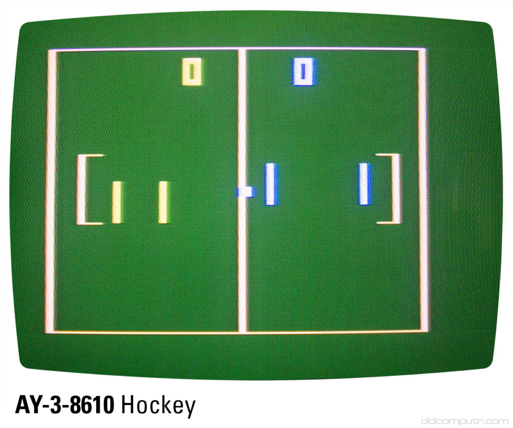 Sportron - AY-3-8610 hockey (B4)