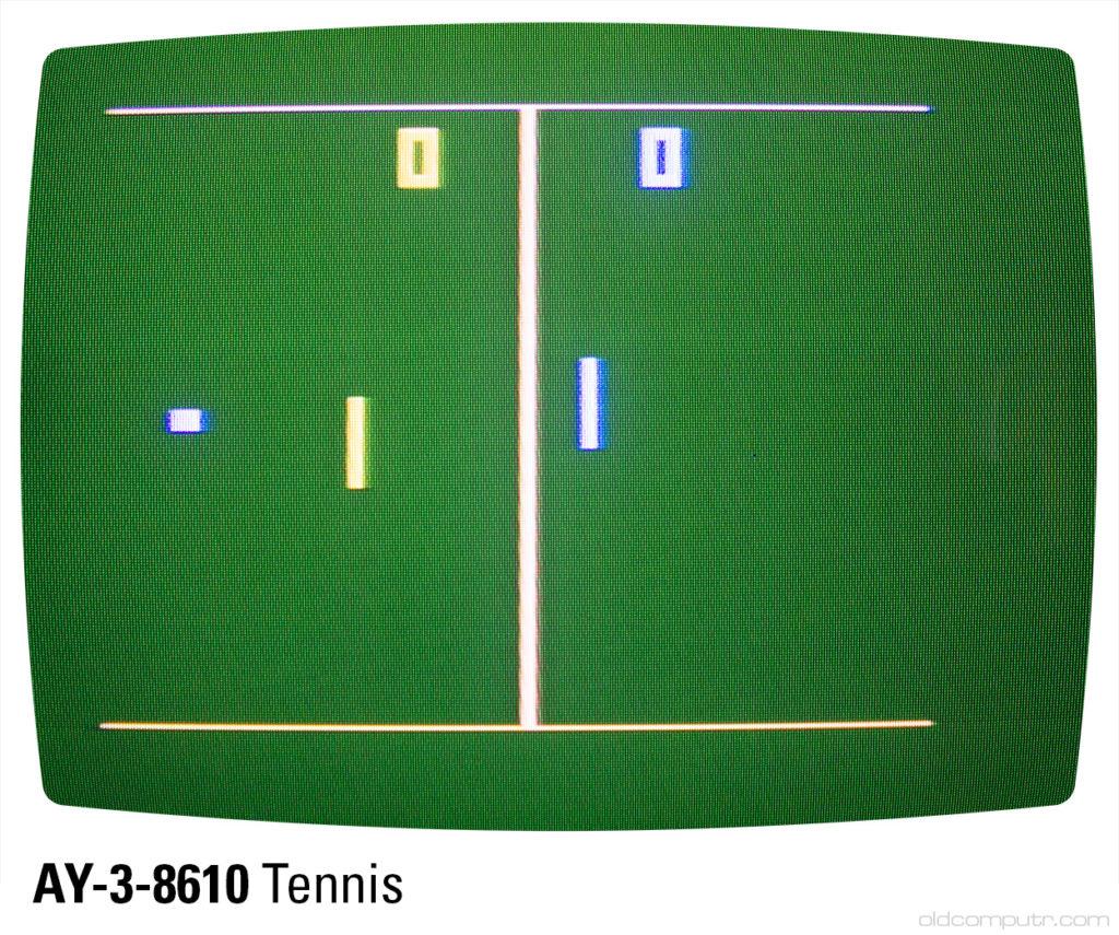 Sportron - AY-3-8610 tennis (B5)