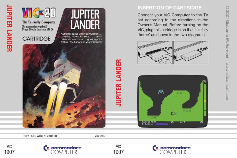Jupiter Lander cartridge sleeve